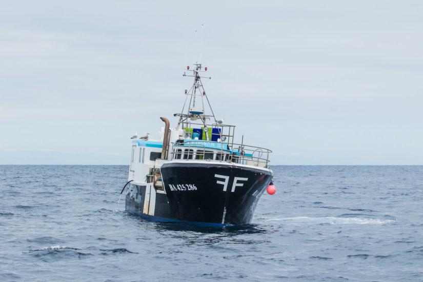 les bateaux de pêche su pays basque avec explore ocean gouf de capbreton