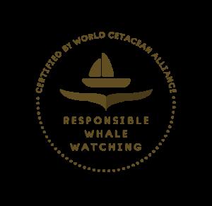 Certification de Whale Watching responsable décernée par World Cetacean Alliance